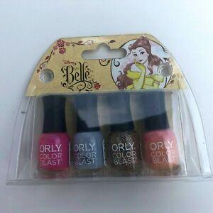 Disney Belle Orly Color Blast Mini Nail Polish Set
