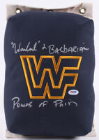 The Powers of Pain Signed WWF 80's Vintage Retro Style Turnbuckle Wrestling WWE