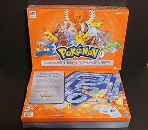 Pokemon Master Trainer Board Game || Milton Bradley || 2005