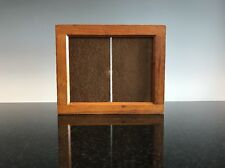 Antique Old Wooden Picture Frame 5 X 4 Contact Printing Frame