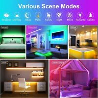 Led Strip Lights Waterproof 16.4ft 5m Color Changing RGB Kit Remote