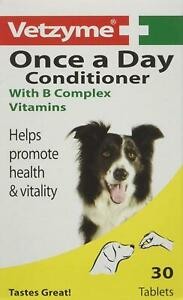 Vetzyme | Once A Day Conditioning Tablets for Dogs, with B Complex Vitamins