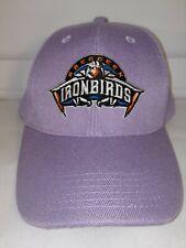 Aberdeen Ironbirds Embroidered Lilac Purple Adjustable Baseball Hat NWOT