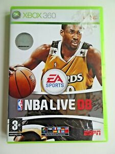 NBA LIVE 08 XBOX 360 GAME COMPLETE