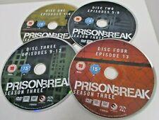 Prison Break - Season 3 DVD (2008) Dominic Purcell