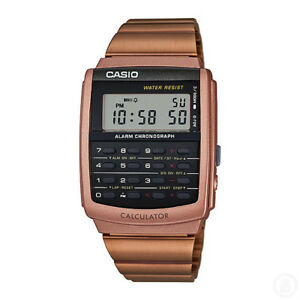 CASIO Vintage Retro Calculator Digital Classic Watch CA-506C-5A