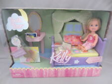 Vintage Tooth Time Kelly Little Sister Of Barbie Bed And Accesories Playset -New
