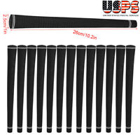 13 PIECE VELVET GOLF CLUB BLACK JUMBO OVERSIZE BIG GRIPS GRIP 26cm