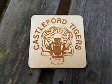 Castleford Tigers Rugby Handmade coaster, Gift Idea
