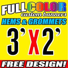 Telescopic Step and Repeat Custom Banner 900 x 600 | 3' x 2' Feet | Free Design