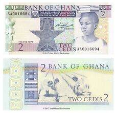 Ghana 2 Cedis 1979 P-18a Banknotes UNC