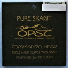 "Opst Pure Skagit Commando Head ""Select Weight""<>Free Warp Speed Shipping>>>>& gt;"