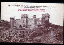CHATEAUNEUF-du-PAPE (84) CHATEAU des FINES-ROCHES / VIGNOBLE CAVE des APOTRES