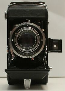 Zeiss Ikon Nettar 120 Film Folding Camera with 105mm f/4.5 Lens
