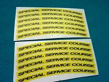 """MAVIC COSMIC CARBONE """"SPECIAL SERVICE COURSE""""  SMALL DECAL SET"""