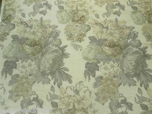 Tessa Proudfoot for St Leger & Viney Curtain Fabric ISABELLA 5.2m Eucalyptus