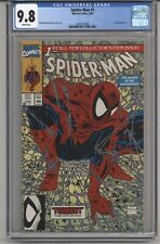 SPIDER-MAN #1 CGC 9.8 WPGS LIZZARD APPEARANCE TODD MCFARLANE STORY