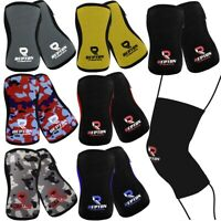 Knee Sleeve Pair Power Lifting  Patella Support Brace Protector Weight Lifting