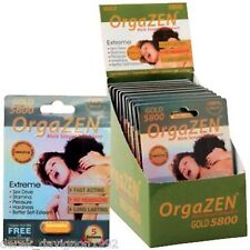 1 OrgaZEN 5800 Male Enhancement Stimulant Sexual Performance Maximize Sex Drive