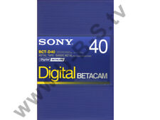 Sony BCT-D40 - Digital Betacam Kassette