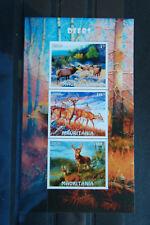 Waldtiere 115 forest animals Hirsch Rehe deers wildlife Fauna postfrisch ** MNH
