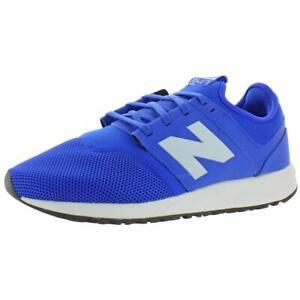 New Balance Men's MRL247 Mesh REVlite Athletic Sneakers Blue/White Size 8.5