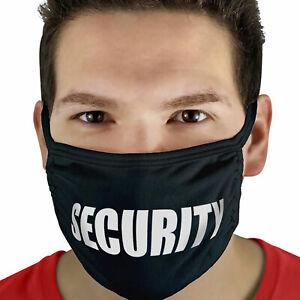 Security Face Mask Doorman Bouncer Door Staff Teflon Coated 95% Cotton