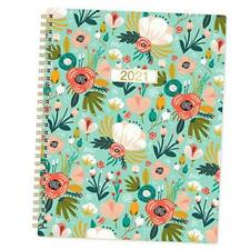 """New listing 2021 Planner - Weekly & Monthly Planner 8"""" x 10"""", Jan 2021-Dec 2021, Flexible"""