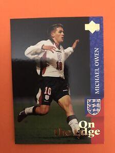 Michael Owen Rookie Card - Upper Deck England 1997  ~  Sharp