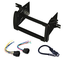 Radio Replacement Dash Mount Kit 2-DIN w/Harness/Antenna for Pontiac Vibe