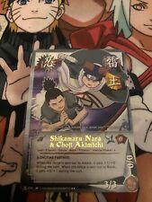 Naruto Cards CCG TCG Shikamaru Nara 596 COMMON COMBINE SHIPPING