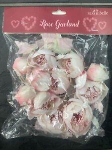 Artificial Pink Rose Garland. Sass&Belle. BNIP. Ideal Room/wedding Decor