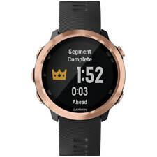 Garmin Unisex Reloj inteligente Forerunner 645 Correa de bisel de oro rosa de música 010-01863-23