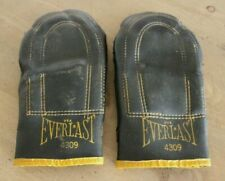 Vintage Everlast 4309 Leather Boxing Gloves Weighted Speed Bag Training 8 oz ?