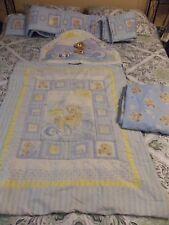 4 Pc. Dolly Inc. Sailor Bears & Sea Shells Infant Baby Crib Set Comforter