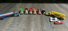 Ho Slot Car Truck Lot!! RARE! Complete And Very Nice.