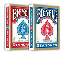 6 mazzi Carte Bicycle Standard Index - formato poker - nuove sigillate