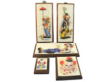 Vintage Collage of Thayer 3-D Clown Pictures