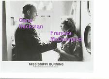 GENE HACKMAN MISSISSIPPI BURNING FRANCES MCDORMAND KKK ORIGINAL PRESS PHOTO