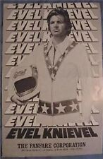 EVEL KNIEVEL GEORGE HAMILTON 1971 PRE MOVIE PUBLICITY PROGRAM