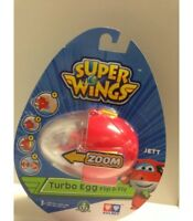 GIOCHI PREZIOSI Super Wings Jett Turbo Egg de Tirón & Fly Mini Figura New