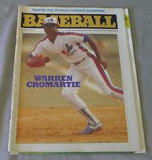 1982 Vol. 14 # 2  Montreal Expos MLB Souvenir Baseball Magazine
