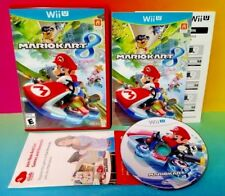 Mario Kart 8 - Nintendo Wii U Game Rare Complete 1-4 Player Race Racing Fun !