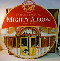 """BELGIUM BREWING NC CO  Mighty Arrow Pale Ale Beer Advertising Sign 18 1/2"""" SALE!"""