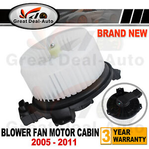 For Toyota Yaris 2005-2011 BLOWER FAN MOTOR CABIN Airconditioning Heater