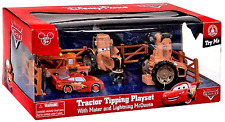 Tractor Tipping Playset Disney Parks Exclusive Cars Land With Mater Lighting