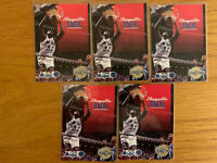 Shaquille O'Neal 1992/93 Skybox rookie Lot (5) Rare Hot Look On Fire