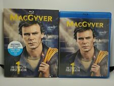 MacGyver: The Complete First Season (5x Blu-ray Set + Rare, Embossed Slip Cover)