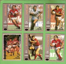 1994 ILLAWARRA STEELERS  SERIES 3  MASTERS RUGBY LEAGUE CARDS