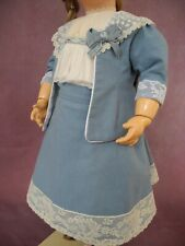 The dress  for French, German antique doll